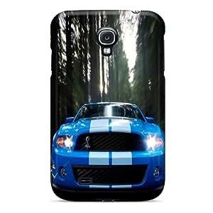 InesWeldon Samsung Galaxy S4 Shockproof Phone Cover Provide Private Custom Beautiful Ford Mustang Skin [SmU16560JzDQ]