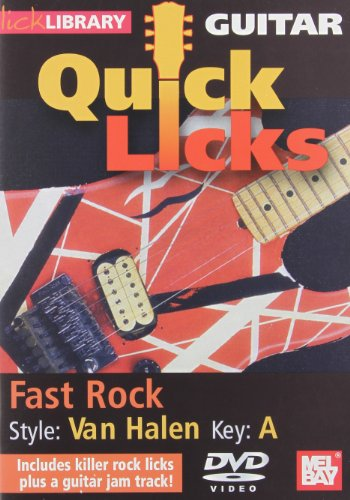 Quick Licks - Eddie Van Halen Fast Rock For Guitar DVD