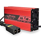 LZFAN EZGO TXT Battery Charger for 36 Volt Golf