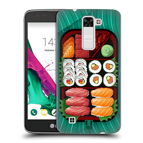(Head Case Designs Sushi Sampler Oriental Food Hard Back Case Compatible for LG K7 K330 / Tribute 5)