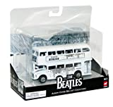 The Beatles 1/64 Scale Routemaster Die Cast Bus and Collector Tin with Revolver Album Cover Artwork