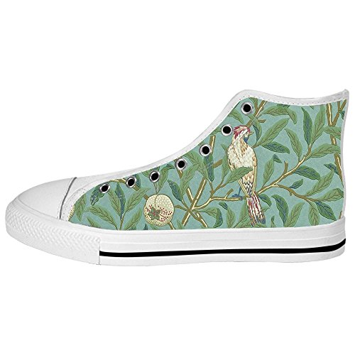 Custom Uccello e foresta Womens Canvas shoes I lacci delle scarpe scarpe scarpe da ginnastica Alto tetto
