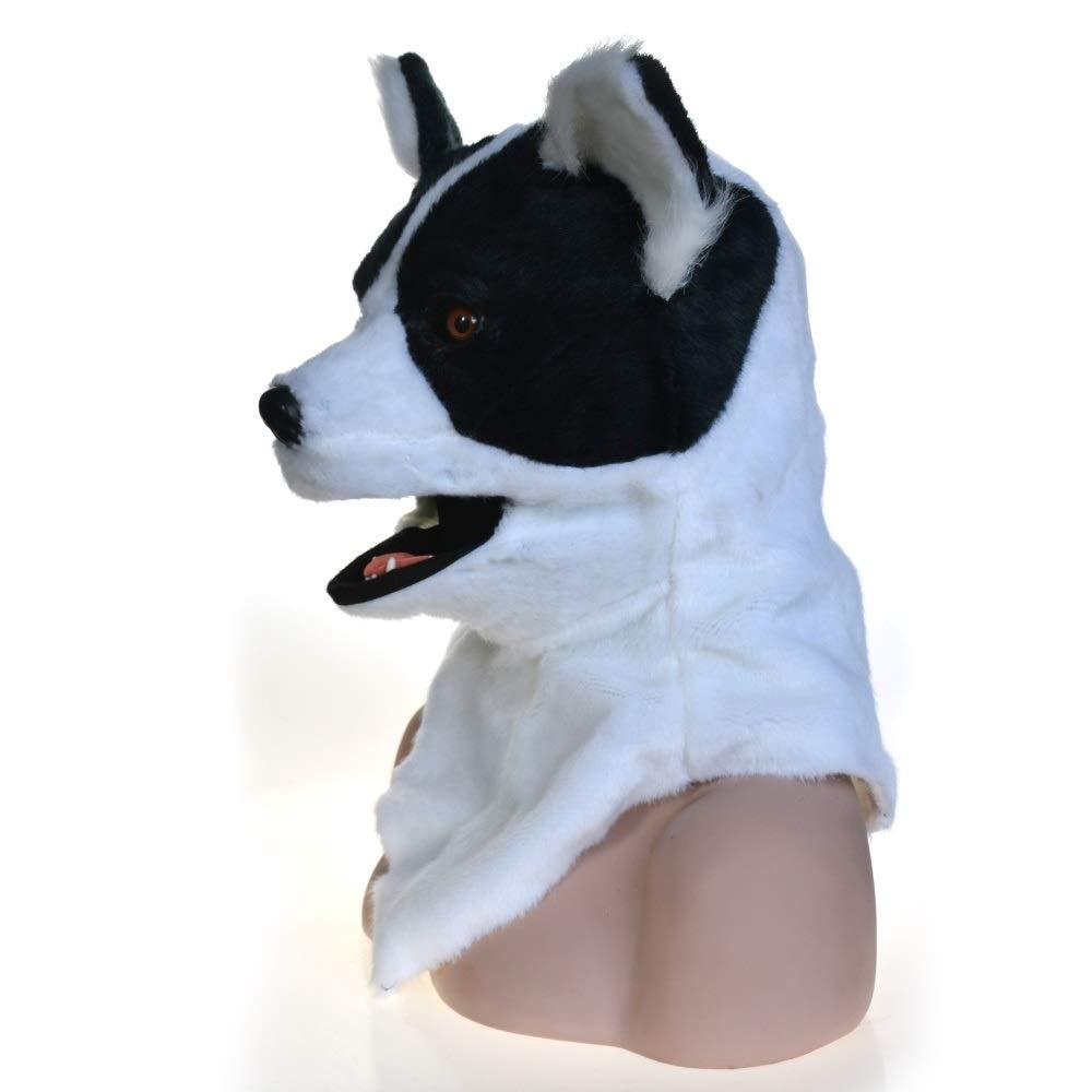 se descuenta GERUIQI Moda innovadora de de de Dibujos Animados Cabeza Llena de Animales en Movimiento Boca CosJugar Cochenaval Disfraces Perro lejía Anime másCocheas para la Venta Dress up Juego Activity Mask  punto de venta en línea