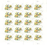 USPS Love Flourishes Forever Postage Stamps (Sheet of 20)