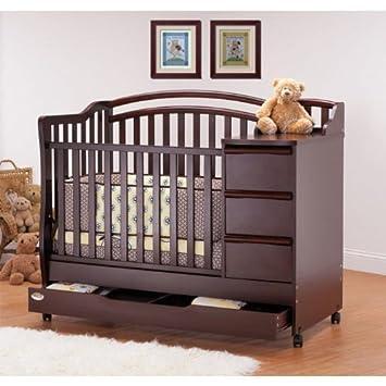 Bon Orbelle Mini Crib To Bed Color   Cherry