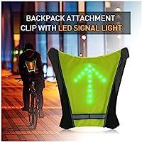 FANCYWING LED Cycling Saddle Bag/Backpack Widget w/Remote...