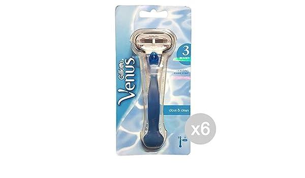 Venus - Juego de 6 cuchillas de afeitar Venus 3 + 1 hoja de ...