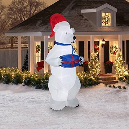 Airblown Inflatable Polar Christmas BLOSSOMZ product image