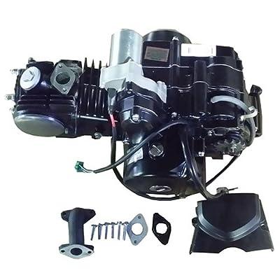 Dune buggys 110cc ATV Engine Motor Semi Auto w/Reverse Electric Start fit 50cc 70cc 90cc 110cc ATVs and Go Karts Quads 4 wheeler go kart Sandrail Roketa Taotao Jonway