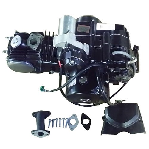 125cc 4-stroke ATV Engine Semi-Auto Transmission w/Reverse, Electric Start for most China made 125cc ATVs & upgrading 50cc-110cc ATVs Roketa Taotao Kazuma Coolster Lance BMS Linhai Tank Lynx etc by X-Pro