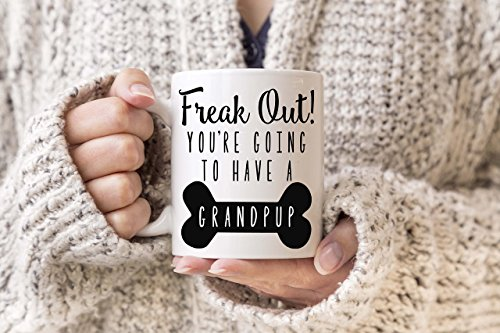 (New Dog Announcement Dog Grandma Mug Dog Grandpa Mug Dog Grandparents Dog Adoption Announcement Dog Pregnancy Announcements New Puppy)