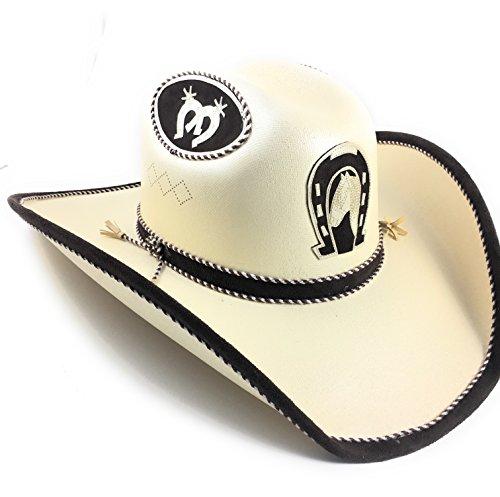 Sombrero Charro (Cowboy Rodeo Hat. Sombrero Vaquero De Lona. Western Hat.)