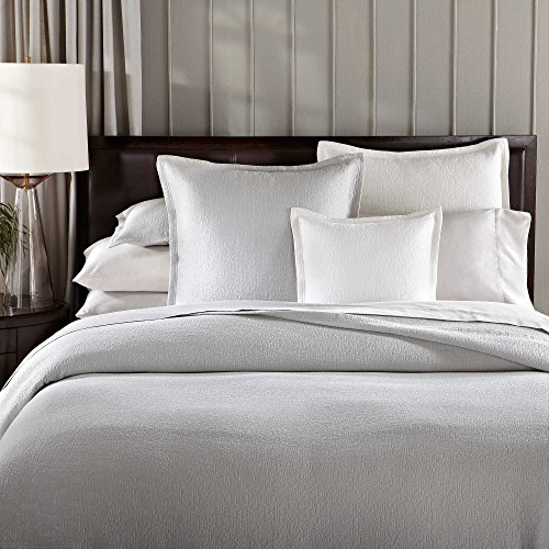 Barbara Barry One Queen Size Sham from The Modernist Bedding Collection in a White Color (Beds Barry Barbara)
