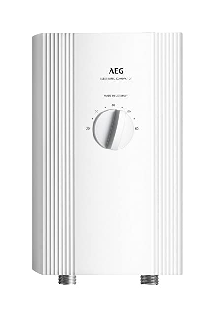 Aeg haustechnik 232793 - Calentador de agua compacto electrónica 1113, selector de potencia de 11