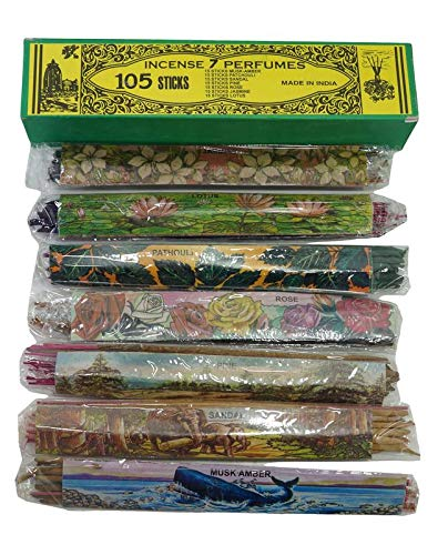Natural Handrolled Agarbatti Incense Sticks Mix Assorted Fragrance Pure - Sticks Incense Fragrance
