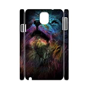 Lion 3D-Printed ZLB554890 Unique Design 3D Cover Case for Samsung galaxy note 3 N9000