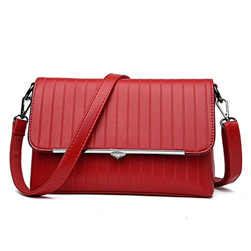 Classic Bolsa Bag red Vestido 27 Oro Body Cross Acolchada Cadena Noche Sra Crossbody 10 Bolso Cm 18 De Pequeña onesize Mini Embrague 7OxRR8w