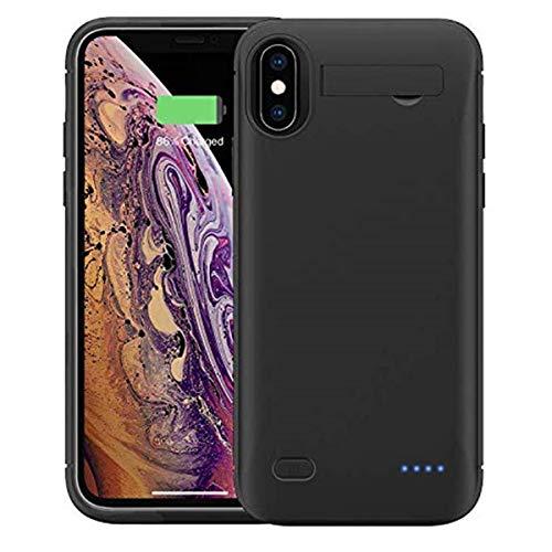 iphone xr 対応 バッテリーケース 5200mah iphone xr対応 バッテリー内蔵ケース iphone xr battery case 薄型 モバイルバッテリー iPhone xr 充電ケース 大容量 黒