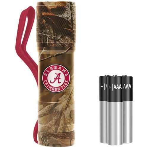 NCAA Alabama Crimson Tide Realtree Camo Pocket LED Flashlight