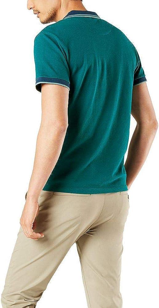 Dockers Mens Smart 360 Flex Performance Polo Polo Shirt