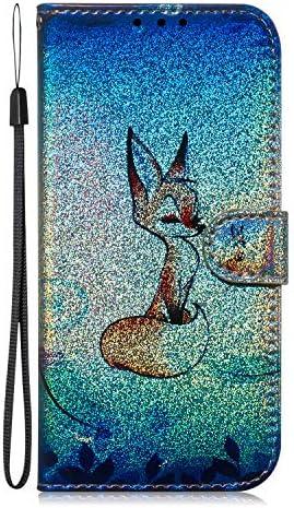 Lomogo Galaxy S7 Edge / G935 Hülle Leder, Schutzhülle Brieftasche mit Kartenfach Klappbar Magnetverschluss Stoßfest Kratzfest Handyhülle Case für Samsung Galaxy S7Edge - LOTXI150314 L3
