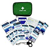 Qualicare Compact Motorcycle Car Travel Bike Emergency First Aid Kit Medium