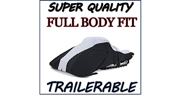 Trailerable Snowmobile Snow Machine Sled Cover Polaris 550 INDY 121 2014-2020