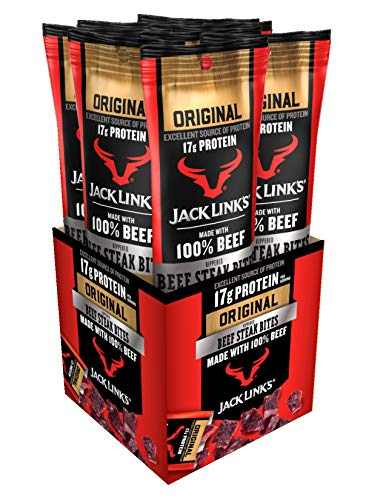 - Jack Link's 8 Pack Beef Steak Bites, Original, 1.5 Ounce