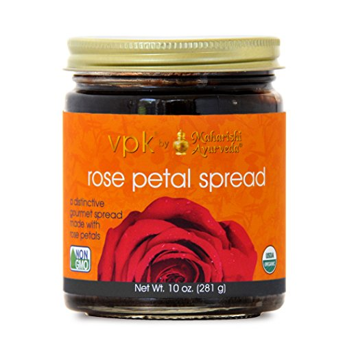 Rose Preserve - Organic Rose Petal Spread, 10oz (281g)
