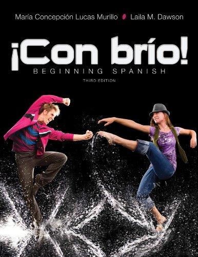 !Con brio!: Beginning Spanish (Spanish Edition)