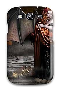 Awesome Cgi Fantasy Flip Case With Fashion Design For Galaxy S3