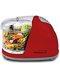 Favor Brentwood Appliances 1.5 Cup Mini Food Chopper Red compare