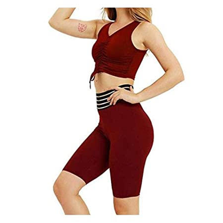 Ropa deportiva para mujer, Señoras Sexy Shaping A Chest Yoga ...