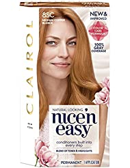 Clairol Nice 'n Easy Permanent Hair Color, 8Sc Medium...