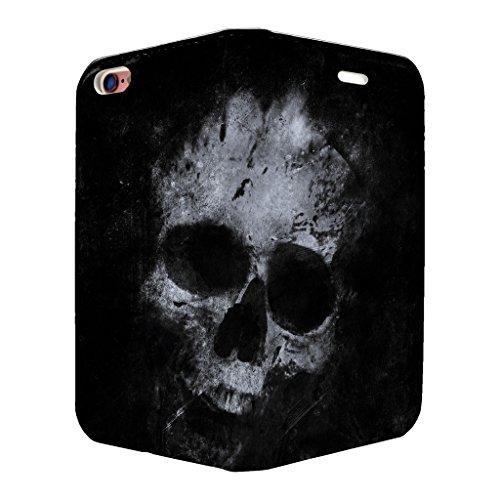 Skull Art Full Flip Case Cover Für Apple iPhone 6–6S–s2768