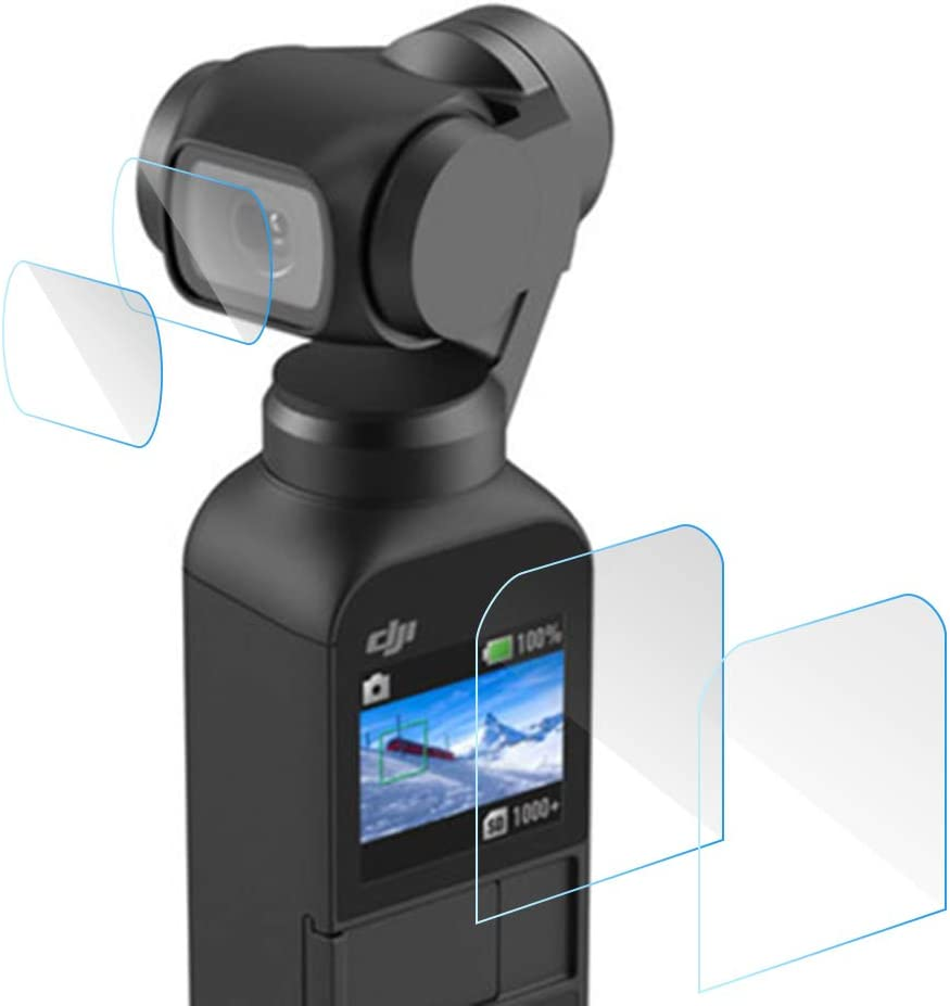 Tempered Glass HD Lens Film Screen Protector For DJI OSMO Pocket Anti-Scratch 5