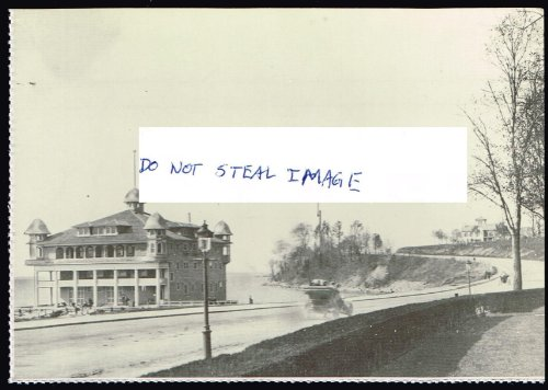 - The Crescent Athletic Club Boat House Shore Road 1903 Brooklyn New York Postcard