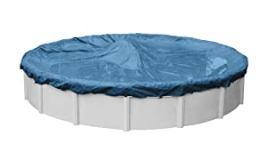 Robelle 3518-4 Super Winter Pool Cover for Round Above Ground Swimming Pools, 18-ft. Round Pool
