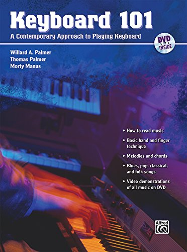 DVD : Willard A. Palmer - Keyboard 101 (With Book)