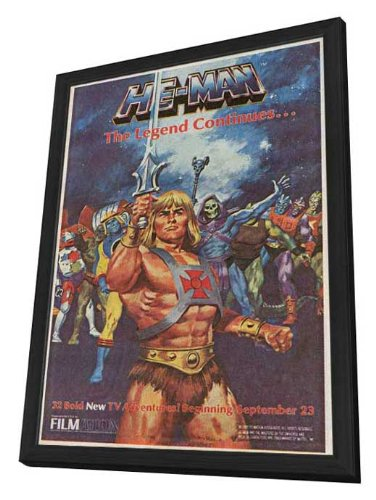 He-Man and the Masters of the Universe  - 11 x 17 Framed Mov