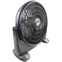 MaxxAir HVFF18P Plastic High-Velocity 3-Speed Floor Fan Inch, 18
