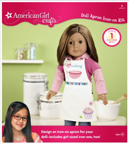 American Girl Crafts Doll Iron-on Apron Kit
