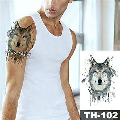 tzxdbh - Lote de 5 Pegatinas Impermeables para Tatuaje de Magma ...