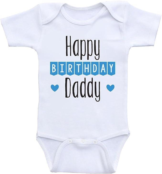Amazon.com: Diseños de corazón Co ropa de bebé de cumpleaños ...