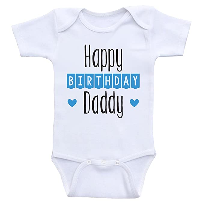 Heart Co Designs Birthday Baby Clothes Happy Daddy Dads Onesies 3mo