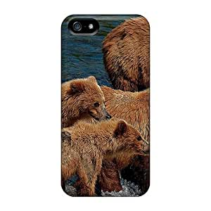 Fashion PGPnhzK1604OzZzx Case Cover For Iphone 5/5s(bears)
