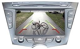 AIE - Rear Camera Interface Kit for (2011-14) HYUNDAI Veloster (Reg./Turbo) w/LCD Display Radio Screen - w/Lip Mount Camera
