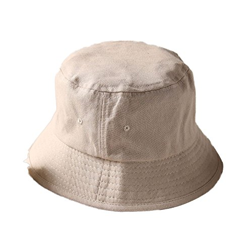 flat top breathable bucket hats double sided