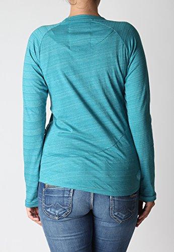 alife and kickin Shirt Mia - Camiseta / Camisa deportivas para mujer Azul