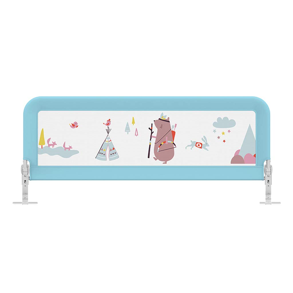 SONGTING Guardrail Kids Safety Bed Rail Baby Child Toddler Bed Rail Safety Protection Guard Cot Bumper Sets Bedding Wrap Around Safety Protection Head Guard by SONGTING Guardrail (Image #1)
